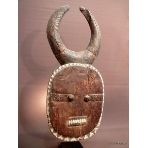 Grand Masque Lunaire Baoulé