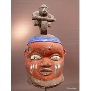Casque Gélédé Yoruba du Nigéria