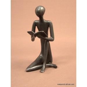 Bronze Liseuse