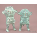 Bronze Tikar Couple