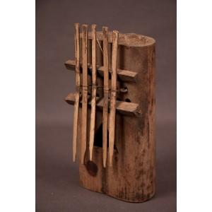 Sanza en bambou de raphia
