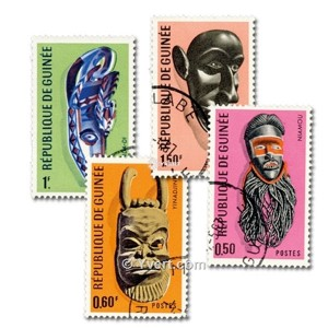 Cover of 100 stamps - Masks