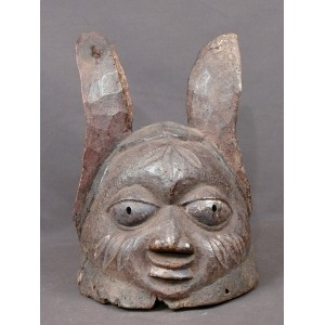 Masque africain Casque Gélédé Yoruba