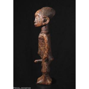 4 Cartes Postales STATUETTES De La Collection France-Cameroun