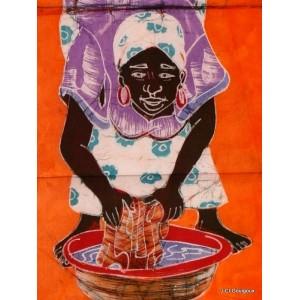 Batik of Yam