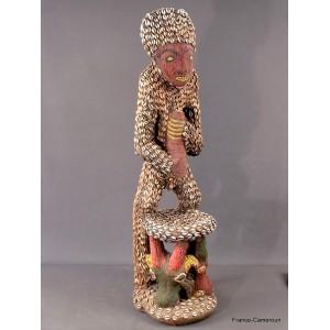 statue africaine bamileke