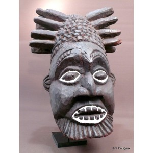 Grand casque Royal Bamileke