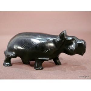 Hippopotame ébène du Cameroun