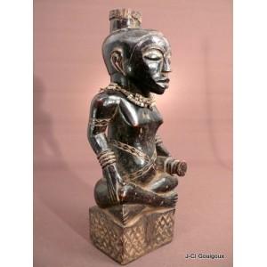 Royal Ndop Statuette Bushoong