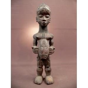 Statuette de maternité Lulua