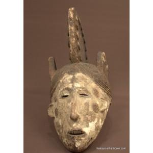 Masque Igbo de jeune femme défunte