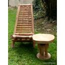 Chaises et table basse